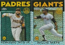 2021 Topps Series 2 Chrome Silver Pack Complete Your Set You Pick