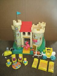 Vintage 1974 Fisher Price Play Family Castle 993. First Edition Flag.