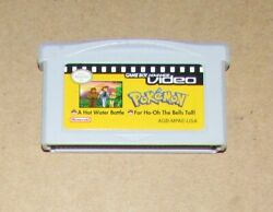 Pokemon For Ho Oh the Bell Tolls amp; A Hot Water Battle Video Game Boy Advance $10.95