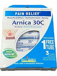 Boiron Arnica 30c Pain Relief - 3 Tubes Exp 11/2023 Or Better