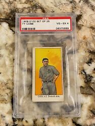 Ty Cobb Rookie 1908 - 1909 E102 Psa 4 Iconic Grail Rc Rarer Than Dietsche And T206