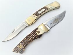 Number 000 - Schrade - Uncle Henry Dixie Collection Knife - 144 And Lb7 Knives