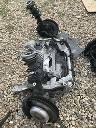 Bmw E89 Z4 3.5is Axle Front Complete With Active Steering Rack Complete