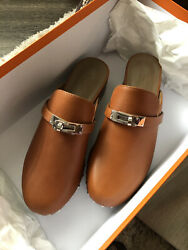 Bnib Hermes Clogs Carlotta Mules Runway Size 37 Sold Out In Stores
