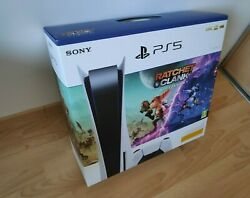 Sony Ps5 Blu-ray Edition Console - Blanc +andnbspratchet And Clank Rift Apart