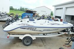 01 Sea-doo Challenger 5699 Jet Boat 717 Hull Shell Ready To Be Registered