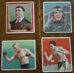 T218 Mecca-hassan 1909 Champion Athletes And Prizefighters 14 Cards