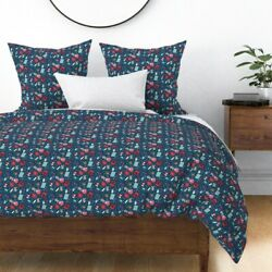 Baking Christmas Cookie Holiday Kitchen Decor Sateen Duvet Cover By Roostery