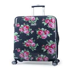 Pioneer Woman Hardside Luggage Carry-on Checked Luggage 4 Wheels 360 Degree