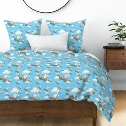 Penis Winged Humor Good Luck Fascinii Guy Sateen Duvet Cover By Roostery