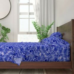 Water Surf Ocean Reef Atlantic Pacific 100 Cotton Sateen Sheet Set By Roostery