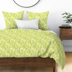 Scandinavian Nature Fruit Funny Pineapples Cute Sateen Duvet Cover By Roostery