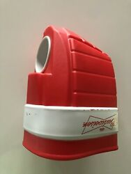 Budweiser Right Hand Plastic Hockey Glove Drink Holder. 9.5 X 6.25. Pre-owned