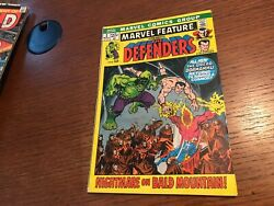 Marvel Feature 1971 2 2nd Appearance Of The Defenders