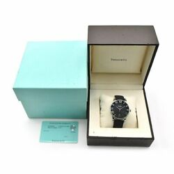 Menand039s Atlas Dome Z1810.68.10a10a50a Black Leather Automatic Watch