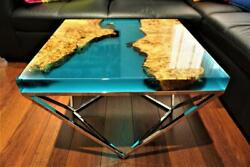 Handmade Epoxy Resin River Dining/coffee Home Furniture Decorate Made To Order
