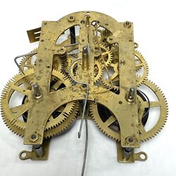 Ansonia Kitchen Clock Movement For Parts Or Repair