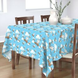 Tablecloth Penis Winged Humor Good Luck Fascinii Guy Fascinus Cotton Sateen