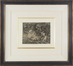 True Work Guarantee Rare Old Prints Goya The Ravages Of War Pl.80 Will She Be