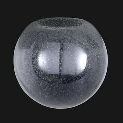 Bandp Lamp Clear Seeded Glass Neckless Ball Shades
