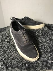 Fear Of God 101 Leather Trimmed Suede Sneakers Made In Italy Men's 44eu 10us