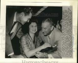 1960 Press Photo Carole Tregoff With Attorneys At Her Los Angeles Murder Trial