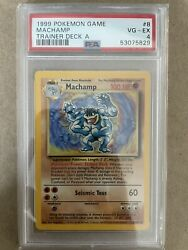 1999 Pokemon Trainer Deck A Machamp. Extremely Rare