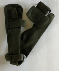 Ww2 Korea Us Military M1910 Pick Mattock Intrenching Axe Ax Canvas Cover Carrier