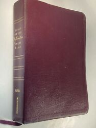 Rare Spirit Of The Reformation Study Bible Niv Bonded Leather Theology Calvin