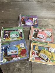 Set Of 5 Leap Frog Little Touch Library Interactive Book And Cartridge Bundle