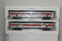 Mth 20-69214 New Haven Abs 70' Streamlined Baggage/coach Passenger Set