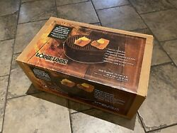 Lodge Cast Iron Sportsmanandrsquos Grill Discontinued New Old Product New In Box