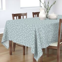 Tablecloth Marker Marks Abstract Confetti Graphic Bold Pastel Cotton Sateen
