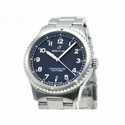 Breitling Menand039s Navitimer 8 Automatic 41 A17314 Black Dial Automatic Watch
