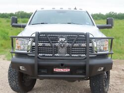 New Ranch Style Front Bumper 10 - 18 Dodge Ram 2500 3500 Smooth Plate