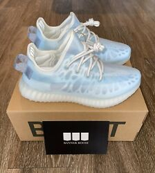 Adidas Yeezy Boost 350 V2 Mono Ice Blue Gw2869 New 100 Authentic Ships Today