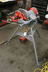 Ridgid 15682 - Threader Pipe 1/8 - 2 300 W/ Stand Foot Pedal And 1 Die