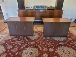 Vintage Jbl C50 Olympus S7 Empty Cabinets And Grilles No Drivers
