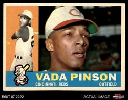 1960 Topps 176 Vada Pinson Reds 6 - Ex/mt