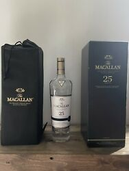 The Macallan Single Malt Scotch Whisky 25 Yr Empty Box With The Bottle