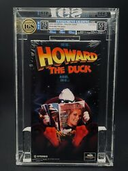 Vhs Howard The Duck Igs 7.5-5.5 Nm 2nd Press 1993 Lea Thompson 80and039s Cult Mca