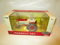 Ertl 1/16 Ih Mccormick Farmall 460 Tractor Comfort Cover Blade Chains Box Issues