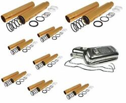 Vw Scat Spring Loaded Push Rod Tubes And Stainless Steel Valve Cover Beetle