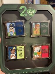 20 Years Of Disney Pin Trading Event Yesterday And Today Slider Box Set Le 250