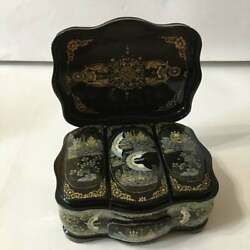 Gorgeous Russian Kholuy Lacquer Box Russian North 354 Hand Painted