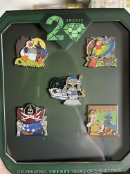 20 Years Of Disney Pin Trading Event Storytellers Box Set Le 500
