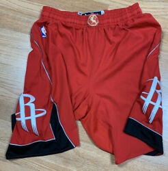 Game Worn Issued Houston Rockets James Harden Chinese New Year Shorts 2xl +2