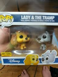 Funko Pop Lady And The Tramp Hot Topic Exclusive