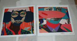 Paul Insect 2021 Signed Print Set Sold Out Allouche Gallery Postcard Show Card