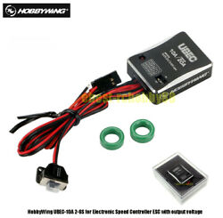 Hobbywing Ubec-10a 2-6s For Electronic Speed Controller Esc With Output Voltage